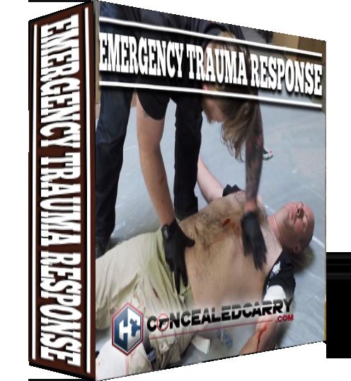EMERGENCY TRAUMA RESPONSE Standing Software Box