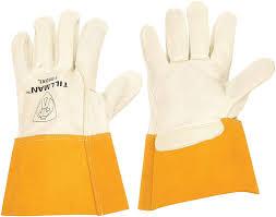 Welding Gloves, MIG, M, 12 in. L, Wing, PR - Welding Safety Gloves ...